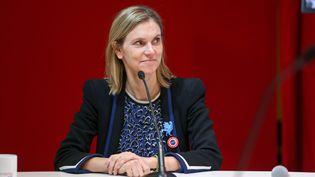 La secrétaire d'Etat à l'Economie, Agnès Pannier-Runacher, le 8 novembre 2019 à Paris. (MICHEL STOUPAK / NURPHOTO / AFP)