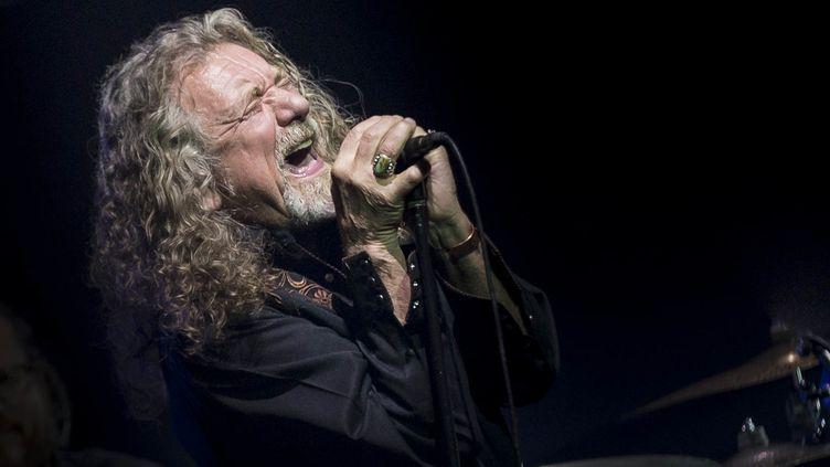 Robert Plant, l'ex-chanteur de Led Zeppelin, lors d'un concert à Austin, au Texas (Etats-Unis), le 20 mars 2016. (SUZANNE CORDEIRO / CORBIS ENTERTAINMENT GETTY IMAGES)