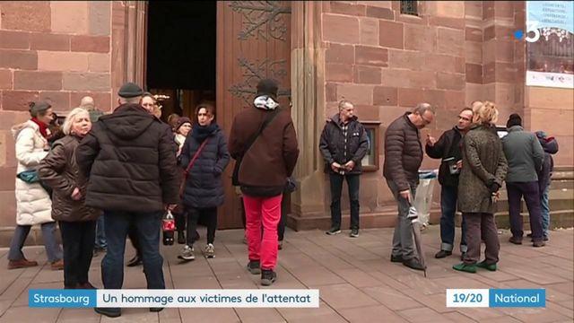 Strasbourg : journée et soirée d'hommage aux victimes de l'attentat