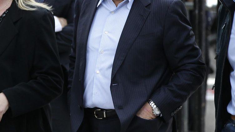 Bernard Tapie,le 21 juin 2012. (MAXPPP)