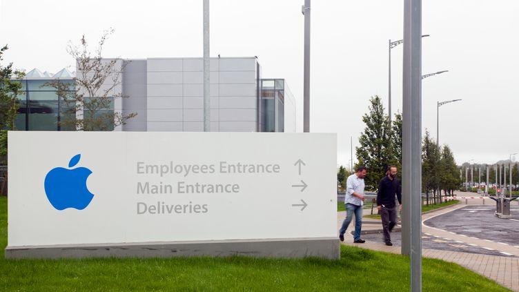 Le siège européen de la société Apple, à Cork (Irlande), le 6 septembre 2016. (EOIN O'CONAILL / DPA / AFP)