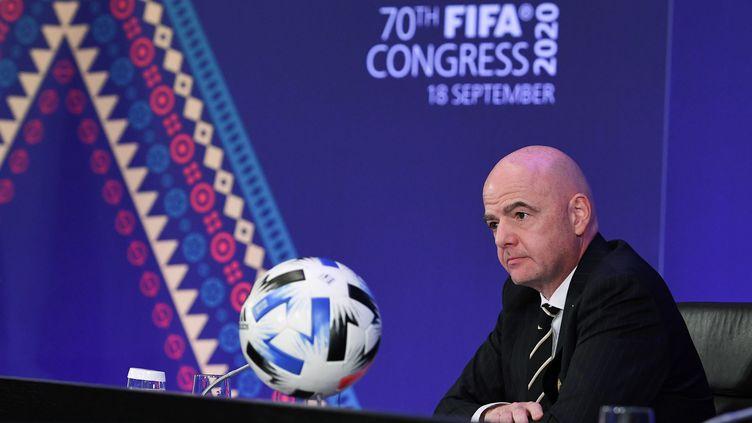 Gianni Infantino au 70e congrès de la FIFA (KURT SCHORRER / FIFA)