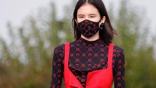 Défilé Marine Serre printemps-été 2020 lors de la Paris fashion Week printemps-été 2019, le 24 septembre 2019 (THOMAS SAMSON / AFP)