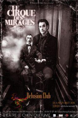 Théâtre des Mirages : Désilusion Club- l'affiche  (DR)
