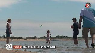 En pleine période estivale, la qualité des eaux est un enjeu de taille pour les stations balnéaires. Les derniers relevés viennent d'être publiés et 37 plages sont pointées du doigt pour la piètre qualité de leur eau. (FRANCE 2)