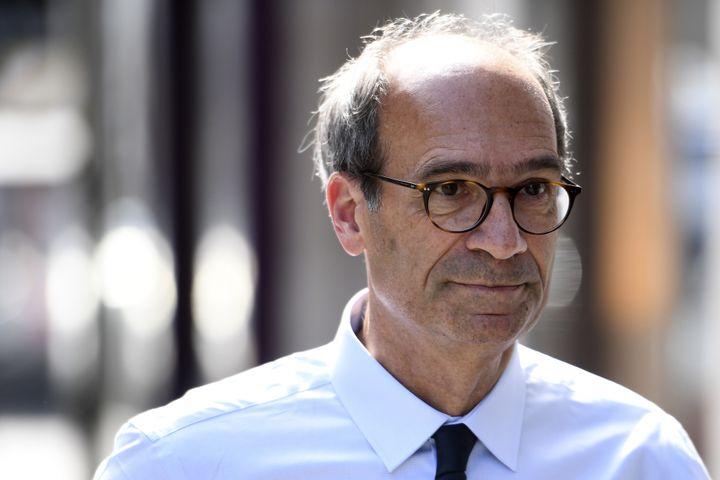 Eric Woerth, le 16 mai 2017, à Paris. (CHRISTOPHE ARCHAMBAULT / AFP)
