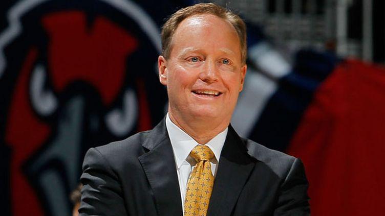 L'entraîneur des Atlanta Hawks, Mike Budenholzer