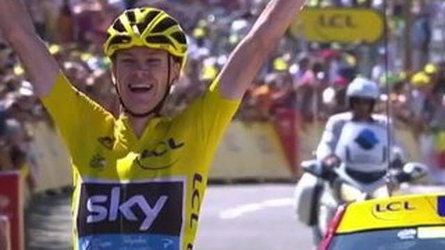 Tour de France : Froome seul au sommet