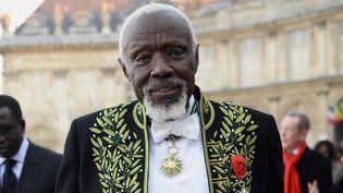 Ousmane Sow, nouveau membre de l'Académie des Beaux Arts, le 11 décembre 2013