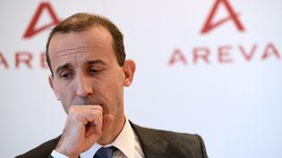 Le PDG d'Areva, Philippe Knoche, le 13 décembre 2012, à Paris. (ERIC FEFERBERG / AFP)