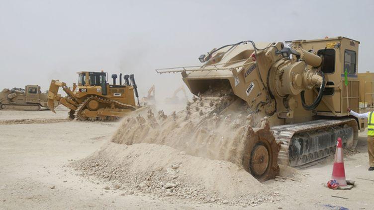 Les travaux pour la construction d'un premier stade au Qatar ont débuté (- / QATAR COMMITTEE DELIVRY & LEGACY)