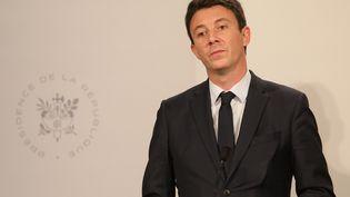 Benjamin Griveaux, porte parole du gouvernement. (LUDOVIC MARIN / AFP)