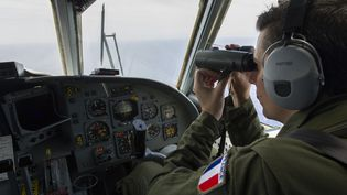Des membres de la Marine française au large de l'Egypte, le 20 mai 2016. (ALEXANDRE GROYER / MARINE NATIONALE / AFP)
