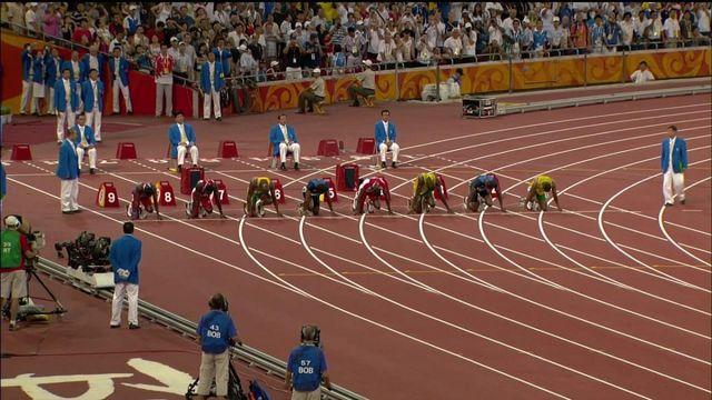 100 m 2008
