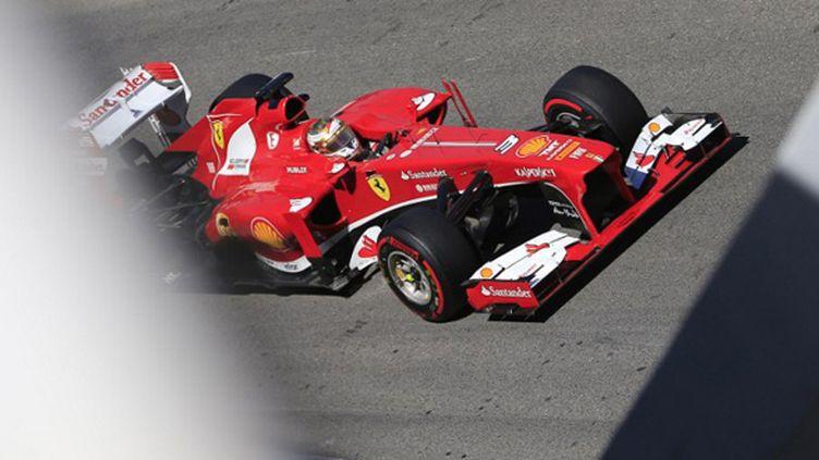 Fernando Alonso (Ferrari) (ALEXANDER KLEIN / AFP)
