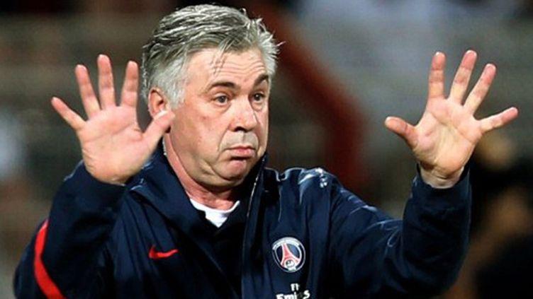 Le nouvel entraîneur du PSG, Carlo Ancelotti