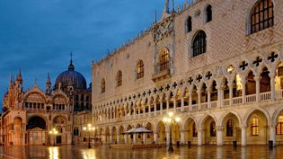 Le palais des Doges de Venise, situé sur la place Saint-Marc.  (KERIBAR IZZET)