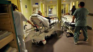 Les urgences de l'hôpital Nord de Marseille, le 30 août 2012. (NICOLAS VALLAURI / MAXPPP / LA PROVENCE)