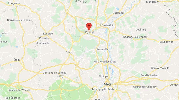 Hayange (Moselle) (GOOGLE MAPS)