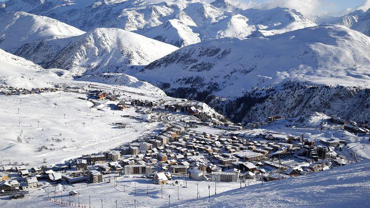 Vu sur l'Alpe d'Huez (2016) (SEBASTIEN NOGIER / EPA)