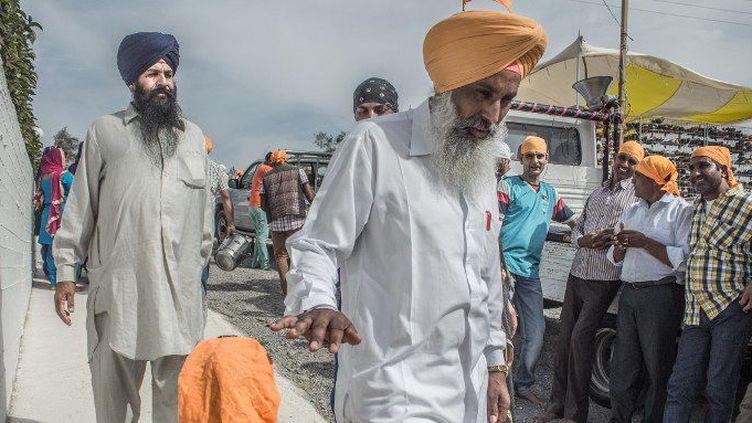La diaspora sikhe compte deux millions de fidèles dans le monde (MARIA CHOURDARI / NURPHOTO)