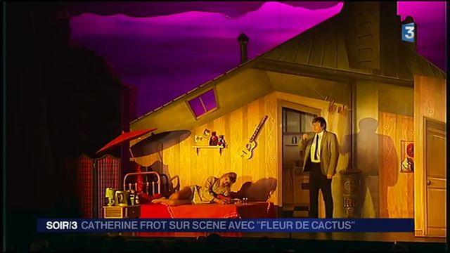 """Théâtre : """"Fleur de Cactus"""" renaît sur scène"""