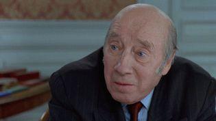 """L'acteur Michel Robin en 2000 dans le film """"Merci pour le chocolat"""" de Claude Chabrol. (MK2 PRODUCTIONS - YMC PRODUCTION)"""
