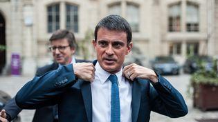 LePremier Ministre Manuel Valls à Paris, le 7 octobre 2016 (MAXPPP)