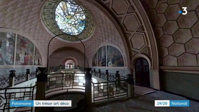 Patrimoine : la salle Sthrau de Maubeuge, un trésor de l'art déco