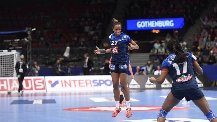 La Française Estelle Nzé-Minko   (JONATHAN NACKSTRAND / AFP)
