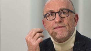 Alain Jakubowicz, l'avocat deNordahl Lelandais, le 13 novembre 2015 à Lyon (Rhône). (ROMAIN LAFABREGUE / AFP)