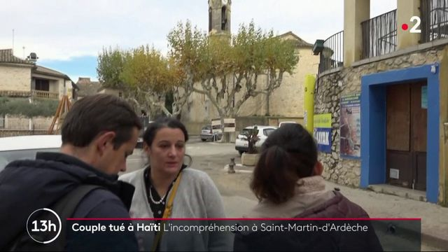 Couple français tué à Haïti : l'incompréhension de leurs proches