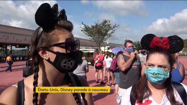 Etats-Unis : Disney World rouvre ses portes