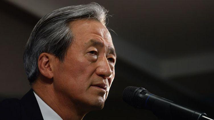 Chung Mong-Joon, candidat à la présidence de la FIFA