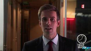 Jean-Baptiste Marteau, journaliste politique de France Télévisions. (FRANCE 2)