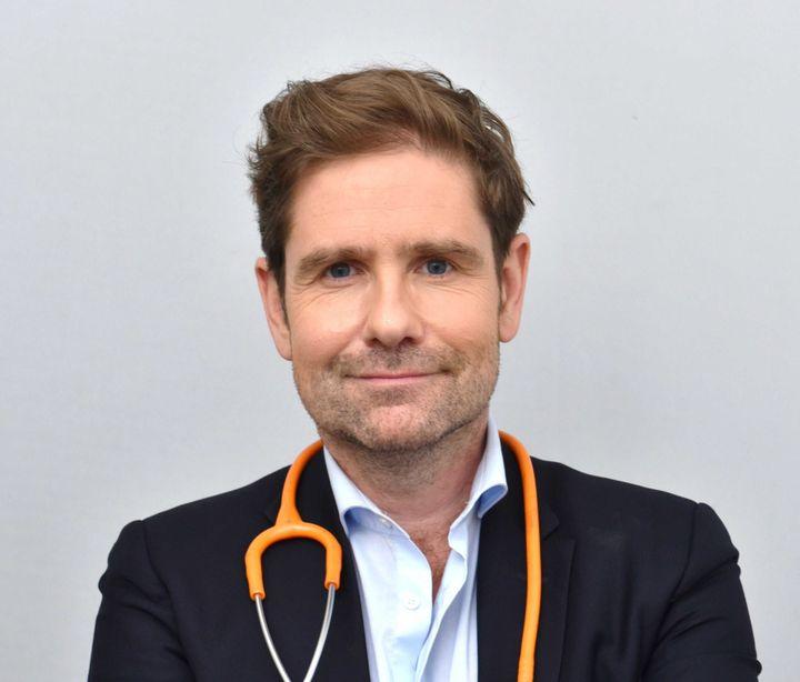 Gérald Kierzek, médecinurgentiste, le 12 mars 2020 à Paris. (IBO/SIPA)
