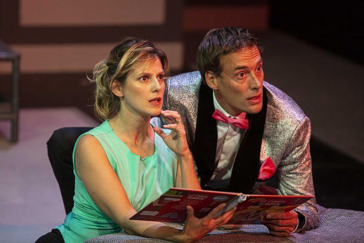 """Elodie Navarre et Emmanuel Noblet dans """"Les Beaux"""" (EMILIE BROUCHON)"""