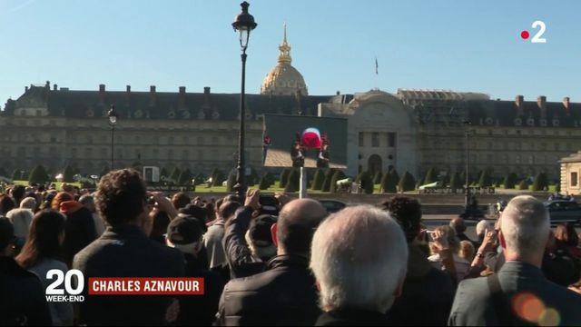 Charles Aznavour : l'hommage de son public