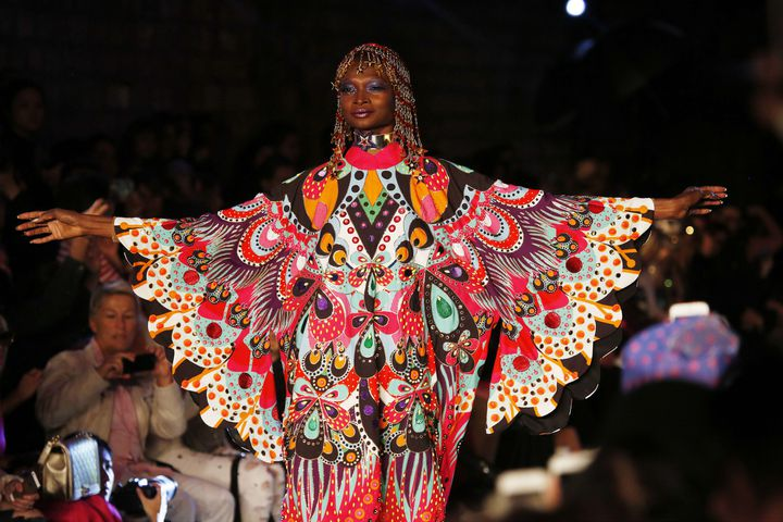 Manish Arora pap printemps-été 2016, à Paris..  (Jerome Delay/AP/SIPA)