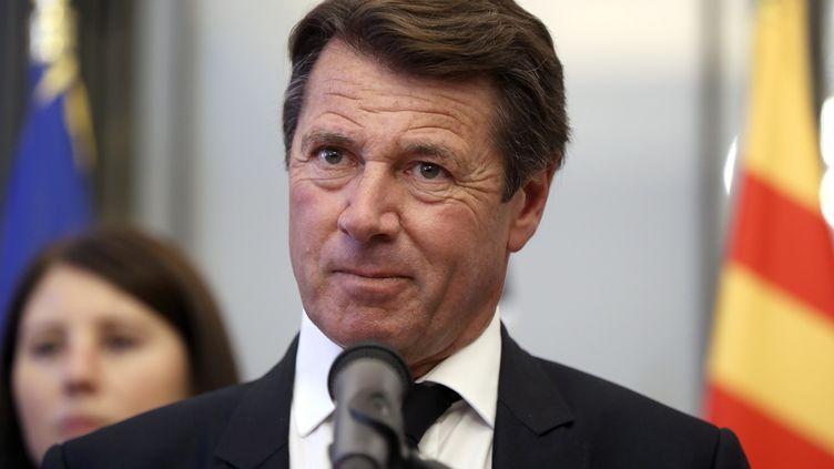 Christian Estrosi, premier adjoint à la mairie de Nice et président du conseil régional de Provence-Alpes-Côte d'Azur (VALERY HACHE / AFP)