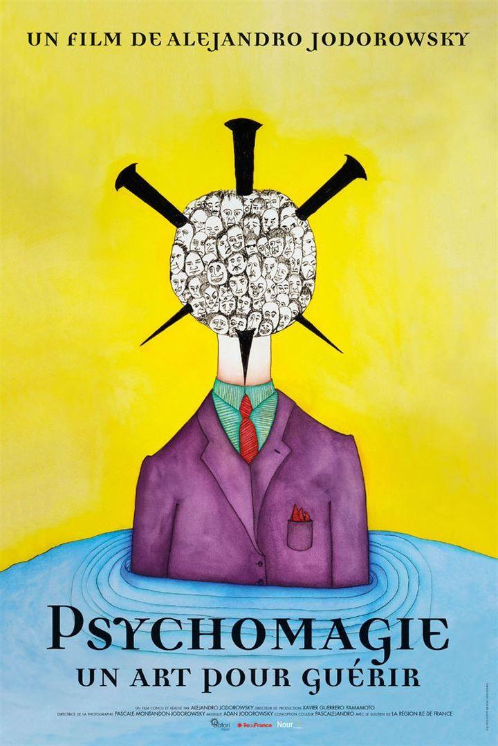 """L'affiche de """"Psychomagie, un art pour guérir"""" d'Alejandro Jodorowsy. (Nour Films)"""
