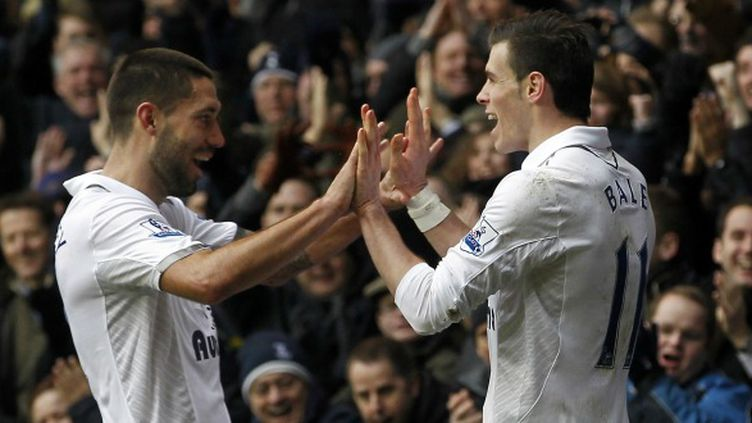 Clint Dempsey et Gareth Bale (Tottenham)
