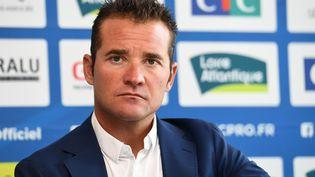 Thomas Voeckler, sélectionneur de l'équipe de France (FRED TANNEAU / AFP)
