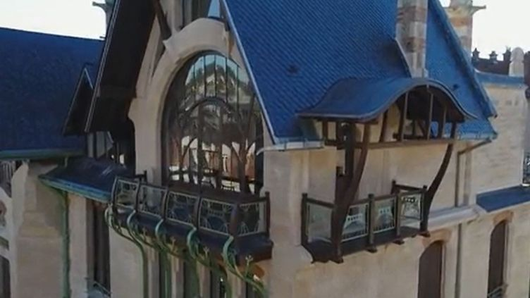 La villa Majorelle, Nancy (Capture d'écran France 3)