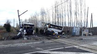 L'accident de car avait fait six morts parmi les collégiens transportés. (CLEMENTZ MICHEL / MAXPPP)