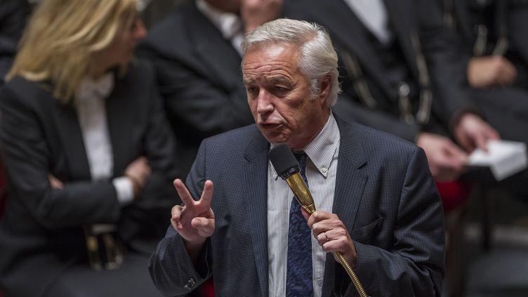 Le ministre du travail François Rebsamen, le 28 octobre 2014 à l'Assemblée nationale à Paris. (ZIHNIOGLU KAMIL / SIPA)