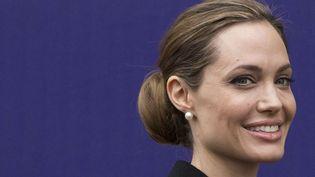 Angelina Jolie (Londres, avril 2013)  (Alastaire Grant / AP / SIPA)