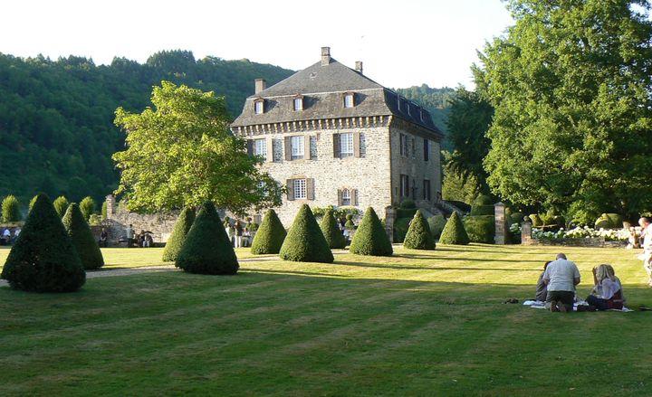 Le Château du Saillant.  (Droits Réservés.)