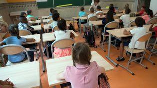 Dans une école primaire à Marseille (Bouches-du-Rhône), le 1er septembre 2015. (BERTRAND LANGLOIS / AFP)