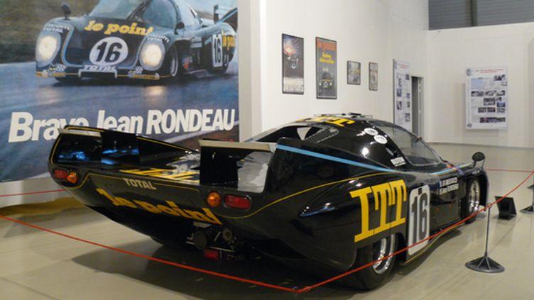 La Rondeau vainqueur des 24 Heures du Mans 1980 a pris place dans le musée de l'Automobile du Mans